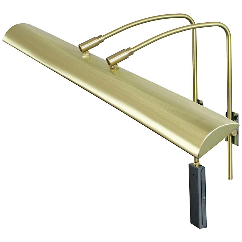 """House of Troy Zenith 36"""" Wide Satin Brass LED Picture Light"""