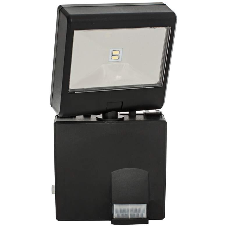 "Black 8"" High Battery LED Security Spotlight"