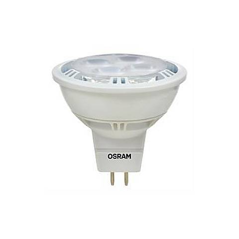 50W Equivalent Sylvania 9 Watt LED Dimmable Bi-Pin MR16 Bulb