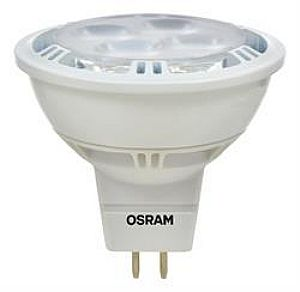 50W Equivalent Sylvania 9 Watt LED Dimmable Bi Pin MR16 Bulb