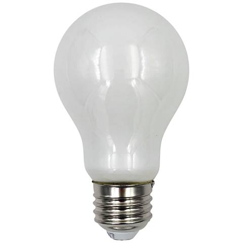 40W Equivalent Frosted 4W LED Dimmable Standard A19 Bulb