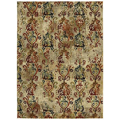Karastan Intrigue 91102 Wile Multi-Color Area Rug