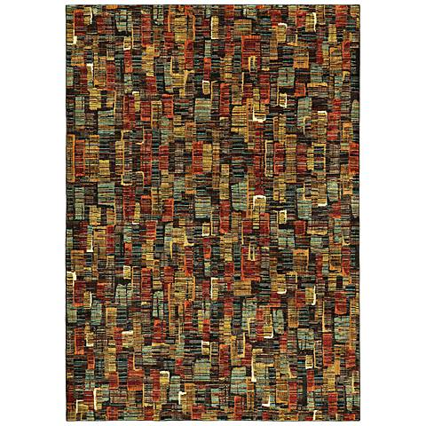 Intrigue 91103 Hypnotize Multi-Color Area Rug
