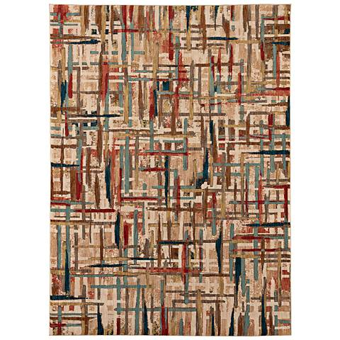 Intrigue 91212 Enchant Multi-Color Area Rug