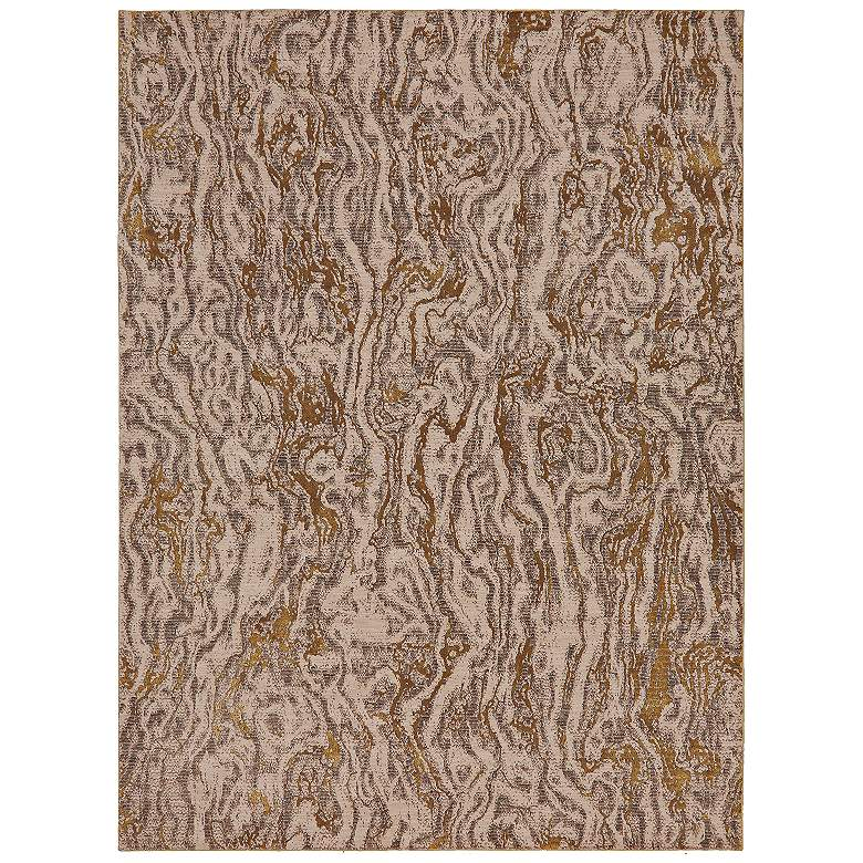 Enigma 90966 Alluvium Brushed Gold Area Rug