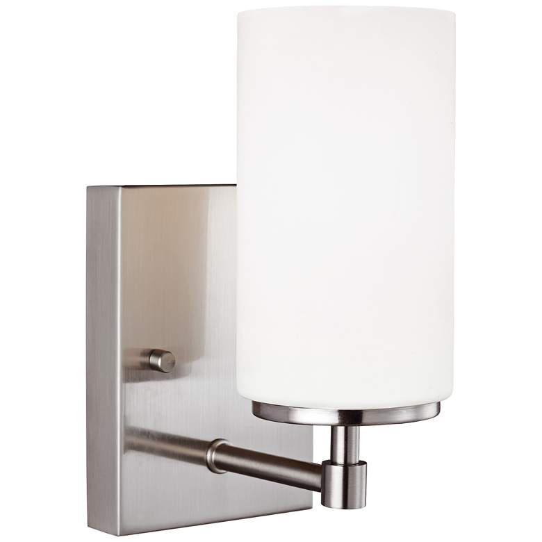 "Alturas 8 3/4"" High Brushed Nickel Wall Sconce"