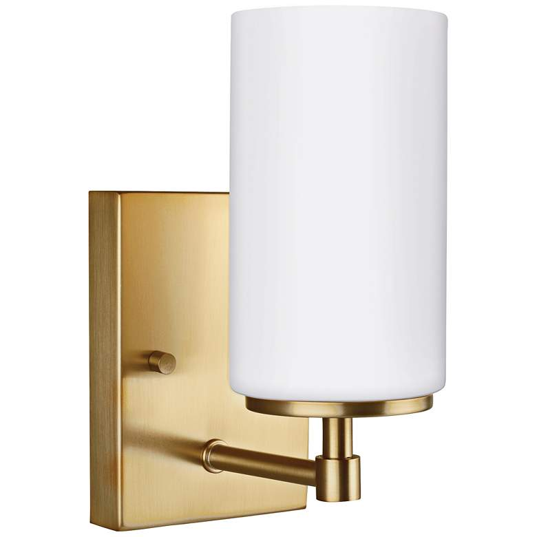 "Alturas 8 3/4"" High Satin Bronze LED Wall Sconce"