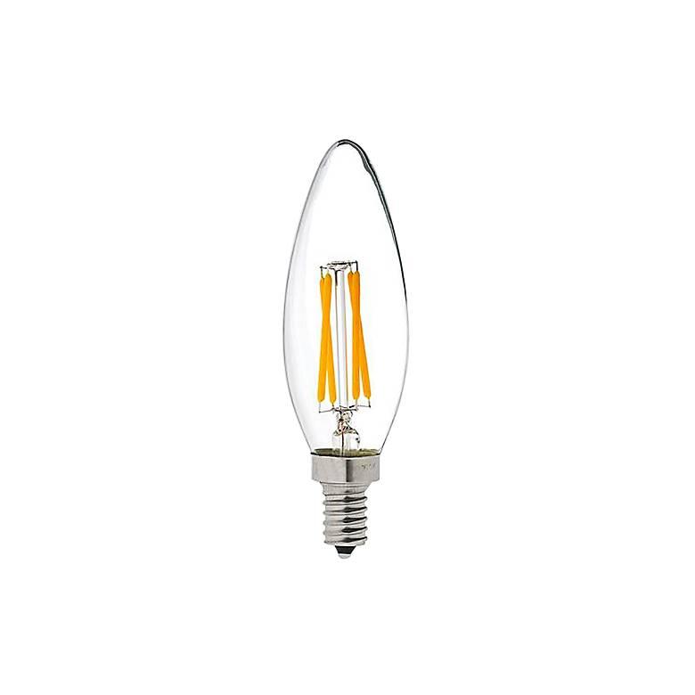 Maxlite Clear 4 Watt E12 Base JA8 Filament LED Light Bulb
