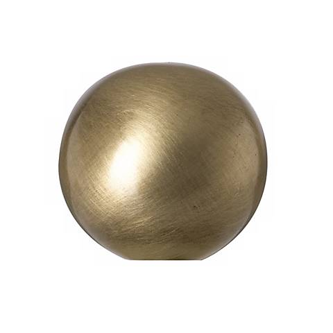 Antique brass ball lamp shade finial 23046 lamps plus antique brass ball lamp shade finial aloadofball Images