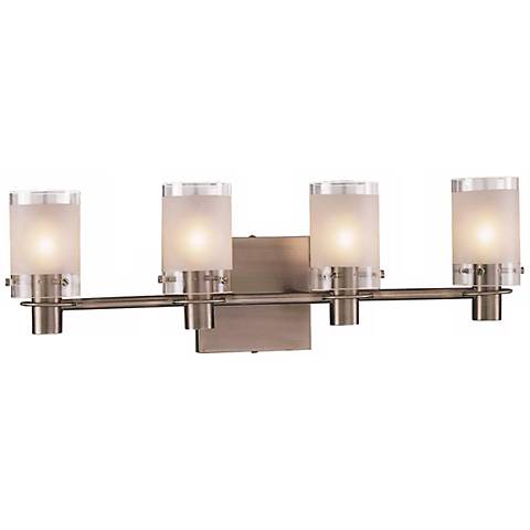 george kovacs bathroom lighting george kovacs antique nickel 22 1 2 quot wide bathroom light 18454