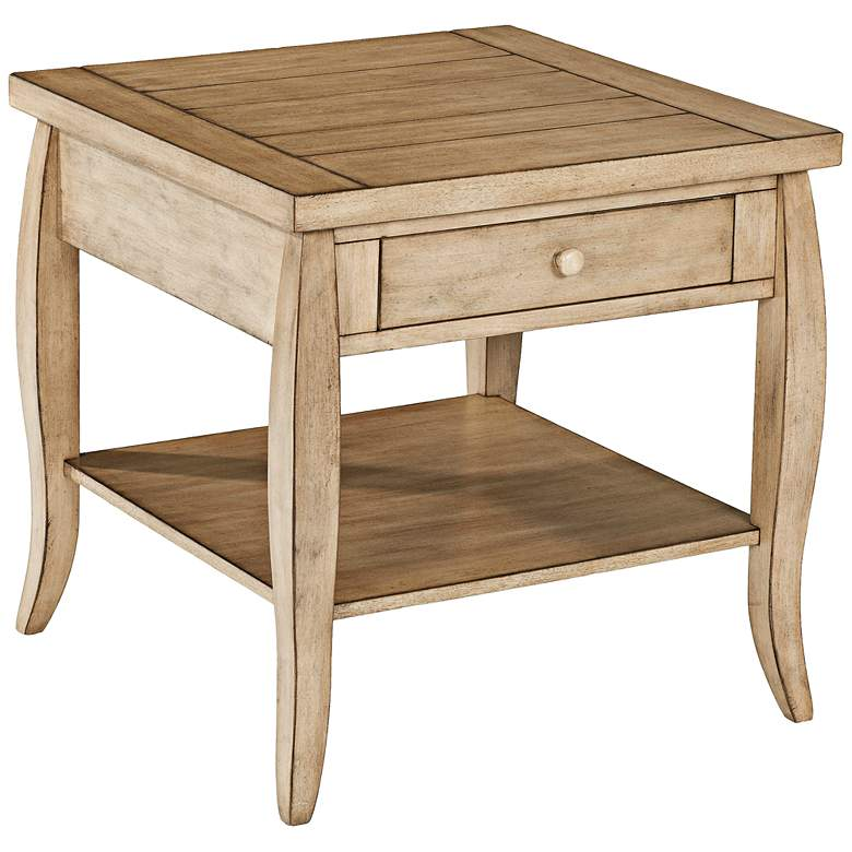 """Glen Valley 24"""" Wide Square End Table by Klaussner"""