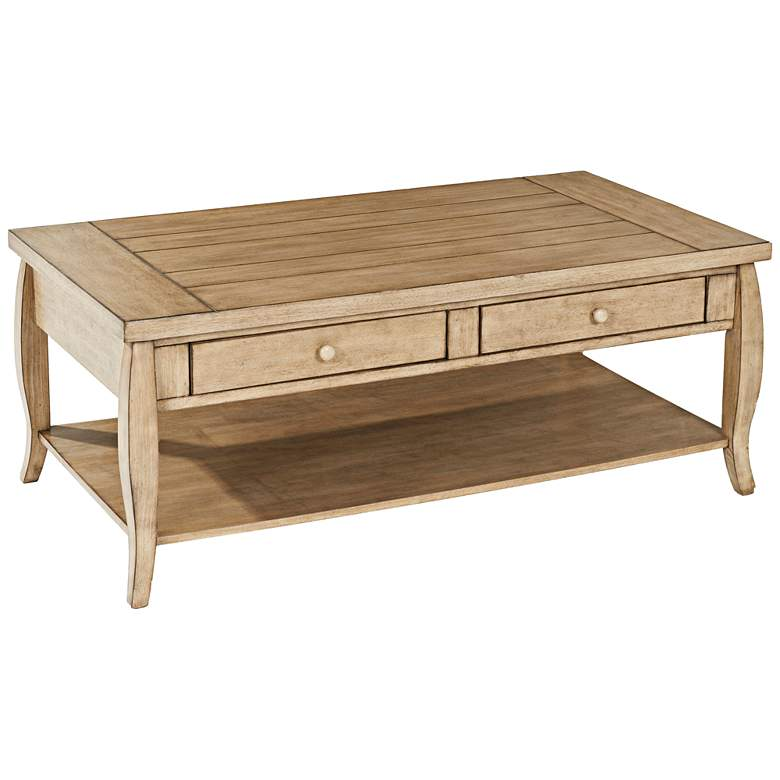 "Glen Valley 48"" Wide Rectangular Cocktail Table by Klaussner"