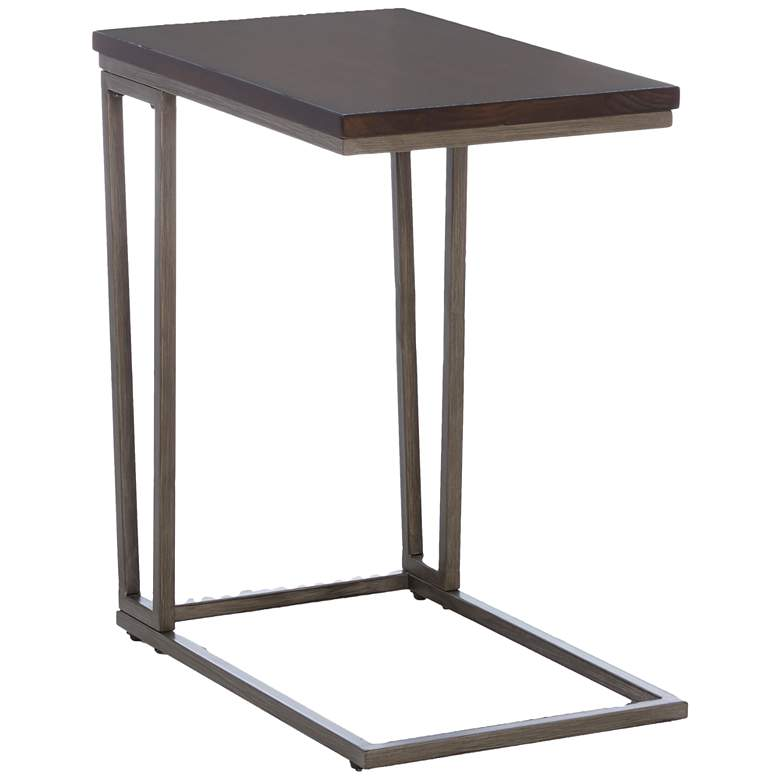 """Klaussner Dawson 24"""" High Distressed Tobacco Laptop Table"""