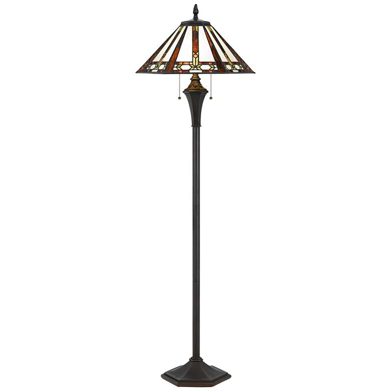 Autumn Tiffany Stained Glass Floor Lamp