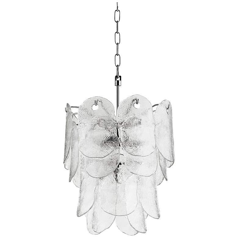 "Cyan Design Cascata 15 1/4""W Polished Nickel Pendant Light"