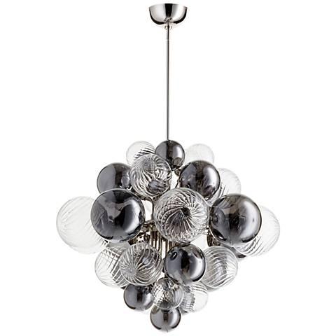 "Cyan Design Valence 26""W Polished Nickel 15-Light Pendant"