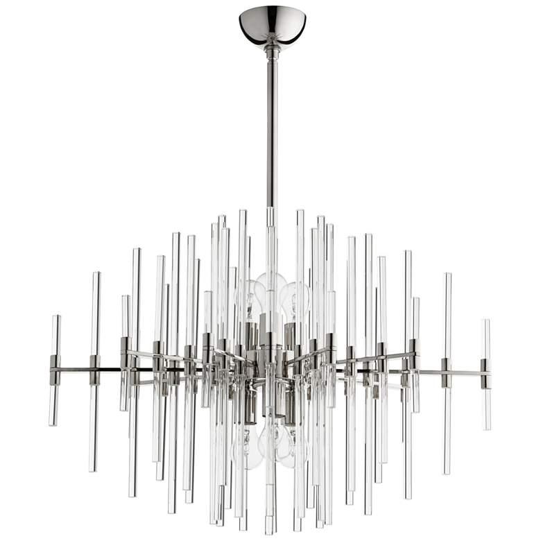 "Cyan Design Quebec 30 1/2""W Polished Nickel 6-Light"
