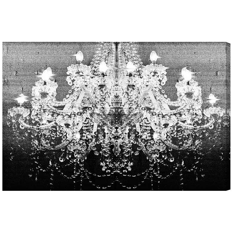 """Oliver Gal Dolce Vita 15"""" Wide Canvas Wall Art"""