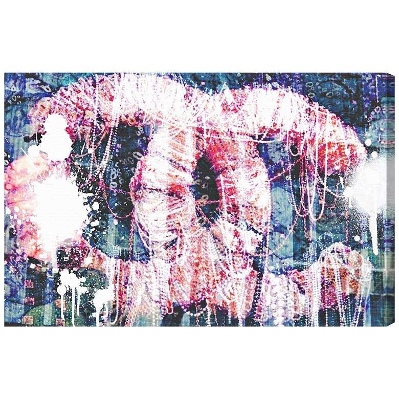 "Oliver Gal Hey Lolita 15"" Wide Canvas Wall Art"