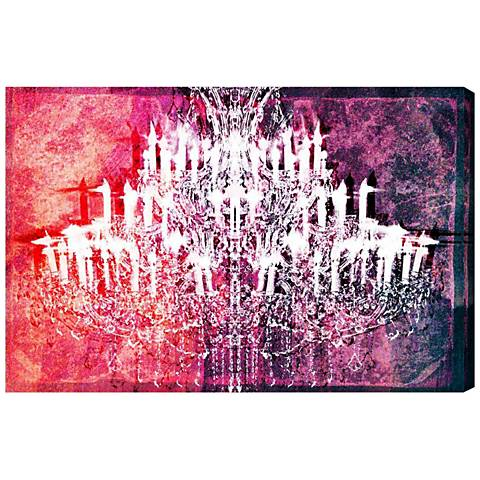 Oliver Gal Ethereal Vision Reversed Canvas Wall Art