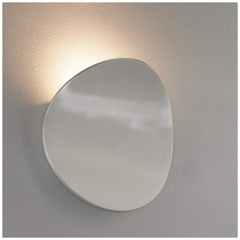 "Bruck Lunaro 8 1/4"" High Brushed Chrome LED Wall Sconce"
