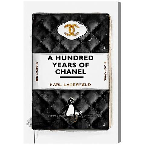 Oliver Gal A Hundred Years of Chanel Canvas Wall Art