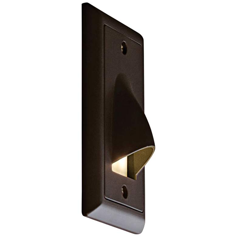 "Bruck Step 3""W Vertical Cove 3000K LED Outdoor Step Light"