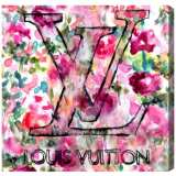 Oliver Gal LV Garden Canvas Wall Art