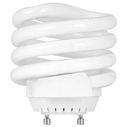 Squat 26 Watt GU24 Spiral CFL Light Bulb