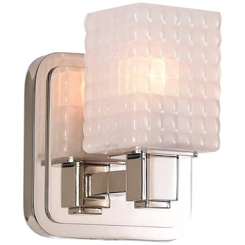 "Avanti 6"" High Polished Nickel LED Wall Sconce"