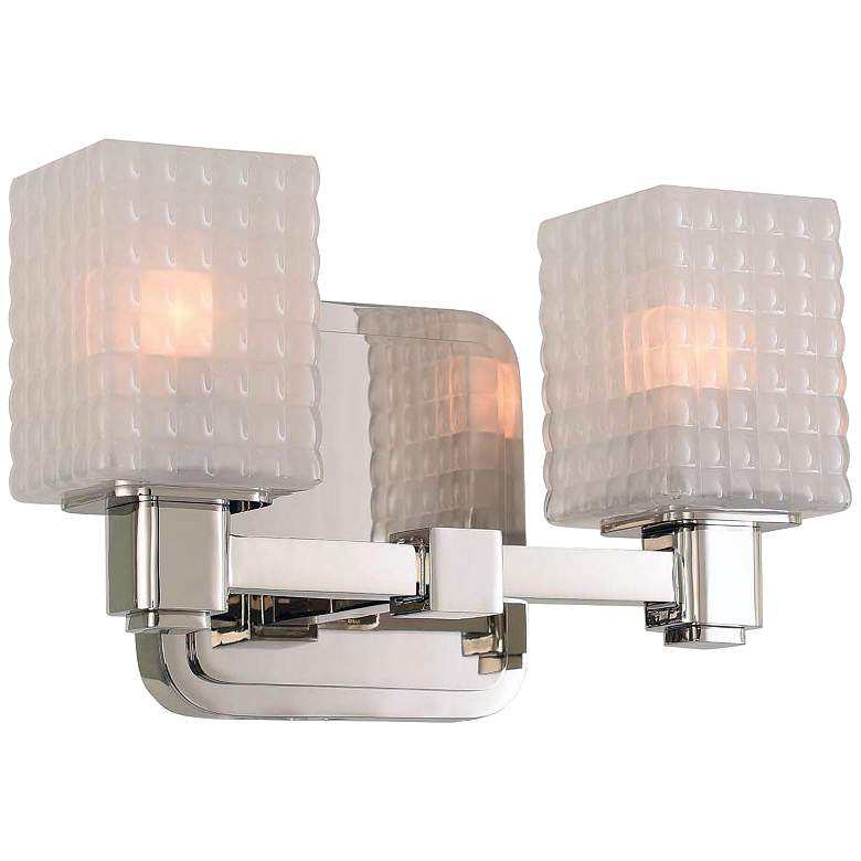 "Avanti 6"" High Polished Nickel 2-LED Wall Sconce"