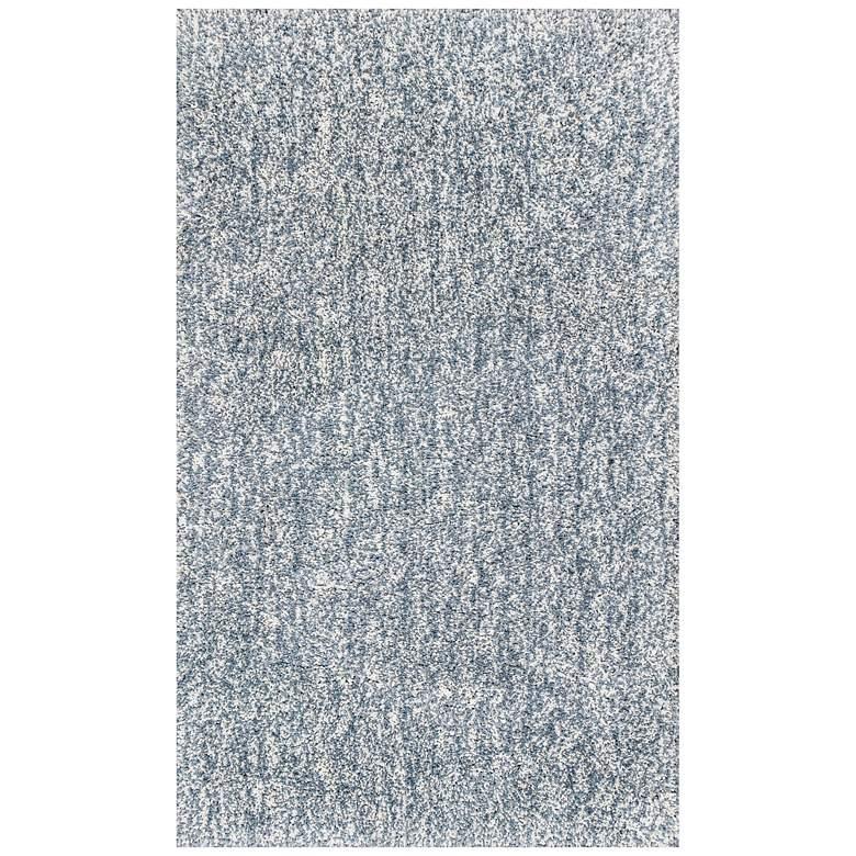 Bliss 1587 5'x7' Slate Heather Shag Area Rug