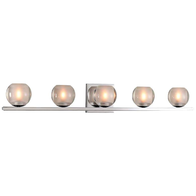 "Corona 33"" Wide Chrome 5-LED Bath Light"