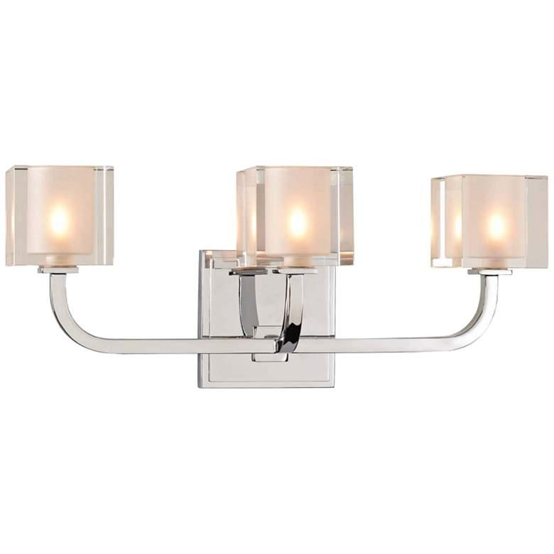 "Arcata 17"" Wide Chrome 3-LED Bath Light"