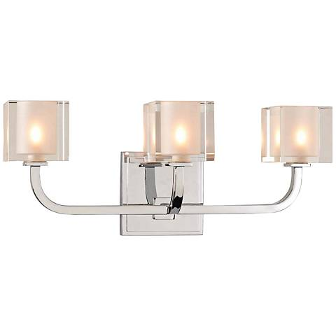 "Arcata 17"" Wide Chrome 3-LED Bath Light"