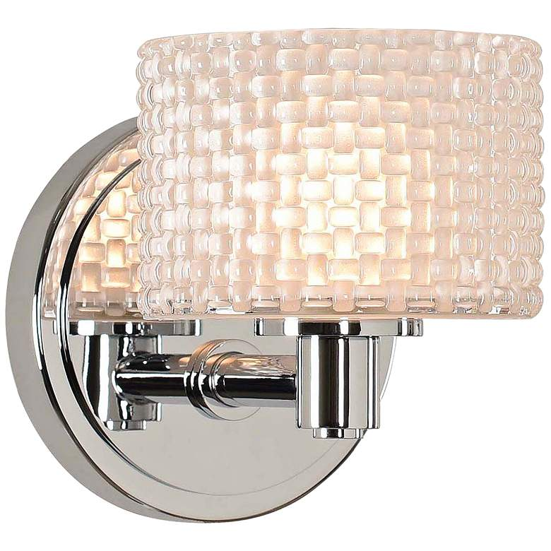 """Willow 6"""" High Chrome LED Wall Sconce"""