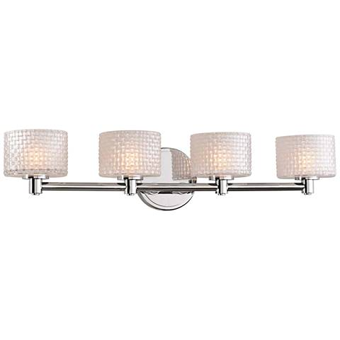 "Willow 26"" Wide Chrome 4-LED Bath Light"