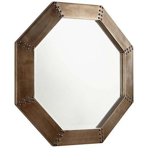 "Cyan Design Silver 27 3/4"" x 27 3/4"" Octagon Wall Mirror"