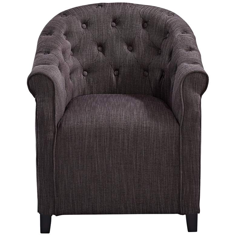 Cyan Design Sultry Charcoal Cotton Tufted Armchair