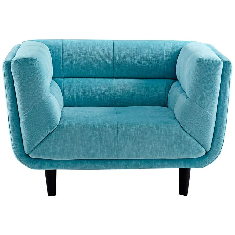 Cyan Design Voyager Blue Velvet Armchair