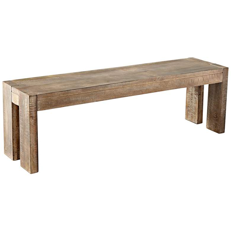 Cyan Design Segvoia Weathered Pine Wood Rectangular Bench