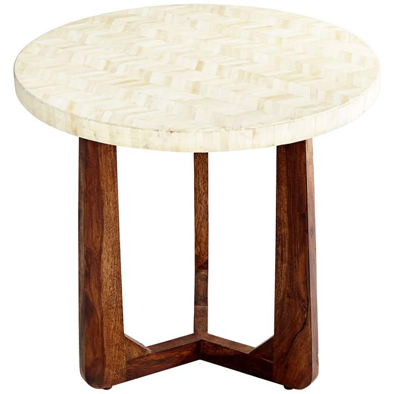 "Cyan Design Archie 25 1/4"" Wide Round Modern Side Table"