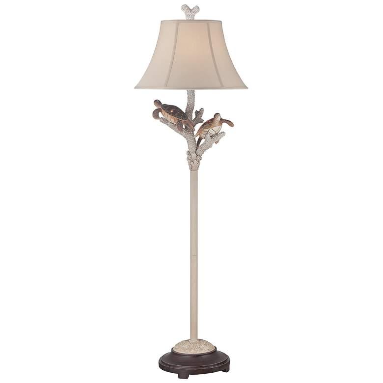 Turtle Antique Night Light Floor Lamp