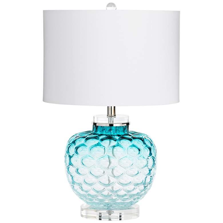 Cyan Design Ballard Teal Glass Table Lamp