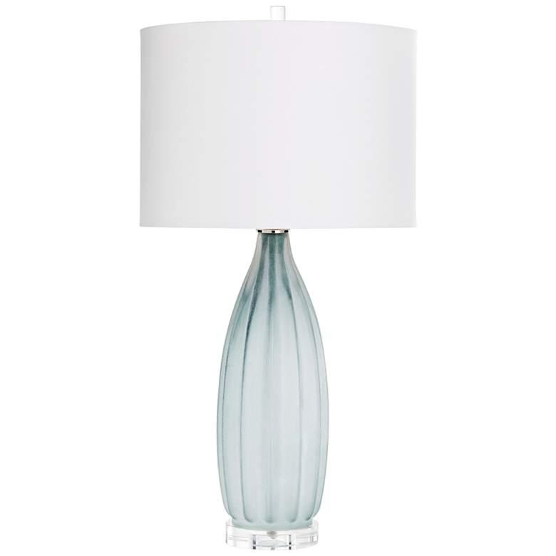 Cyan Design Blakemore Gray Glass Table Lamp
