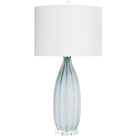 Cyan Design Blakemore Gray Glass Table Lamp
