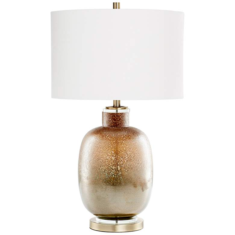 Cyan Design August Night Lunar Brown Glass Table Lamp