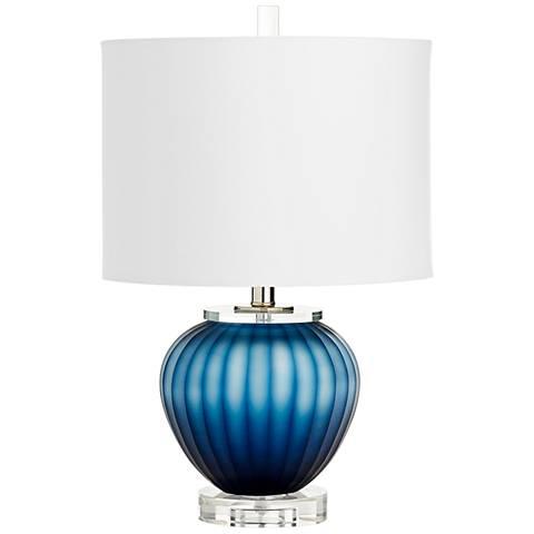 Cyan Design Halden Blue Glass Table Lamp