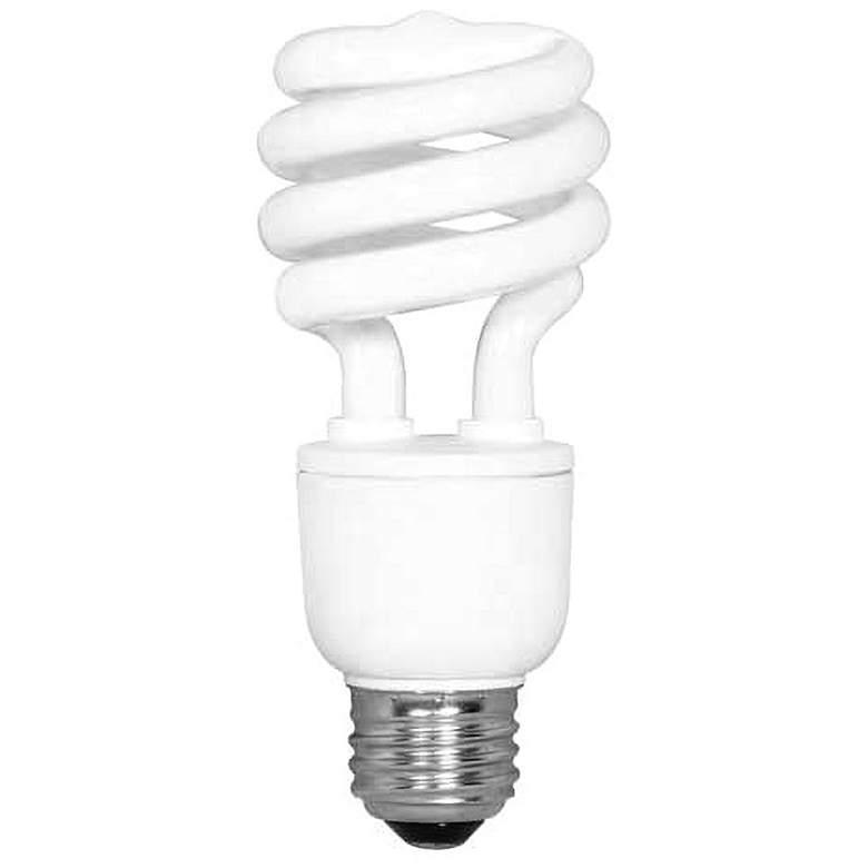13 Watt Daylight 5000K CFL Twist Light Bulb