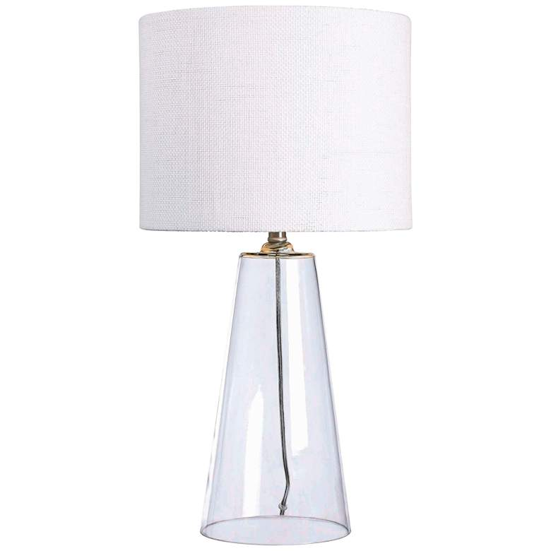 Kenroy Home Boda Clear Glass Table Lamp